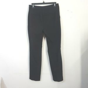 Express Pitch Black Cropped Ankle Pants 4R